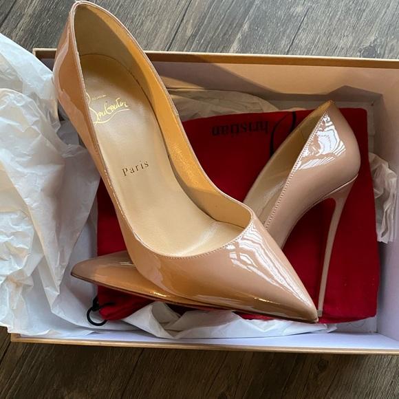 SO KATE 120 Nude Patent - Women Shoes - Christian Louboutin